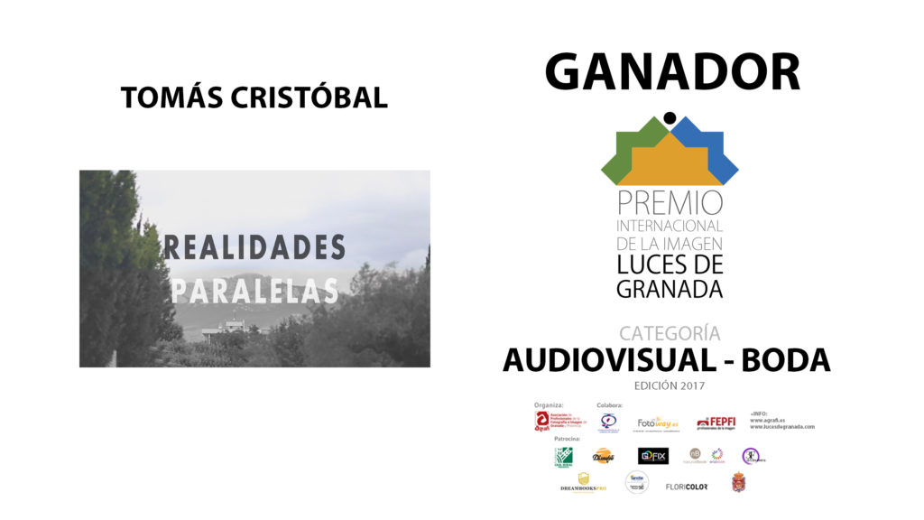 GANADORES_LUCES_2017 AUDIOVISUAL BODA