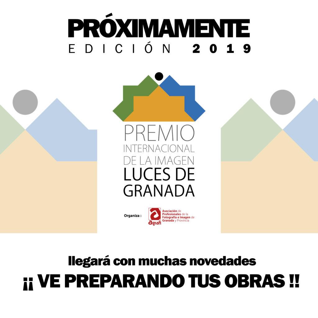 Cartel de Avance LUCES 2019 copia